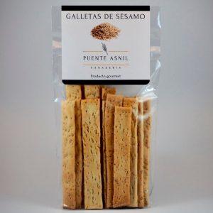 Panaderia puente asnil en Potes. Galletas de sésamo